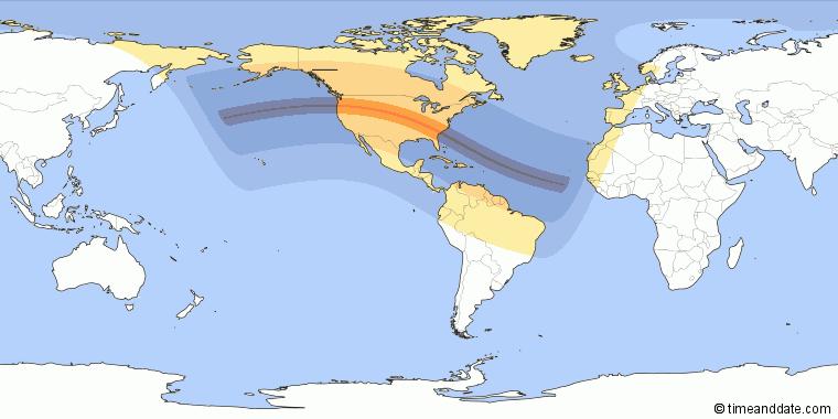 Resultado de imagen para eclipses de agosto 2017