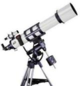 Telescopio con montura ecuatorial